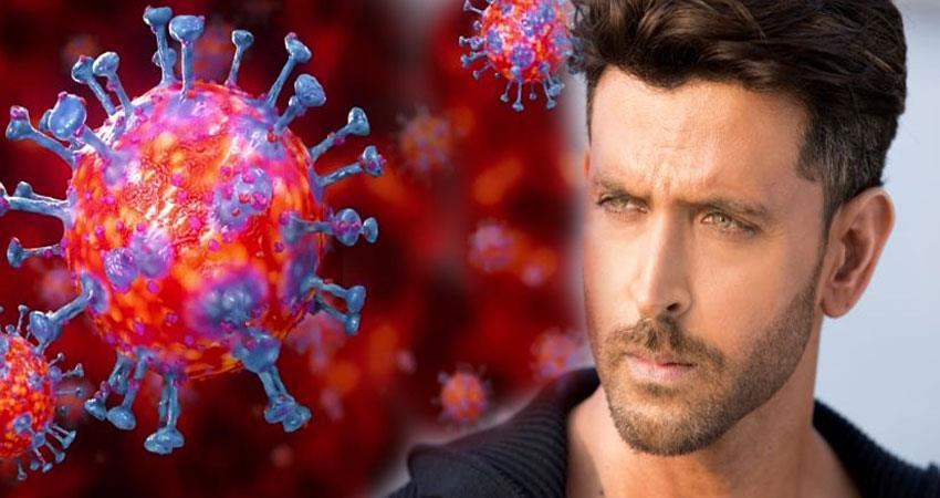 Hrithik roshan share a video on  coronavirus