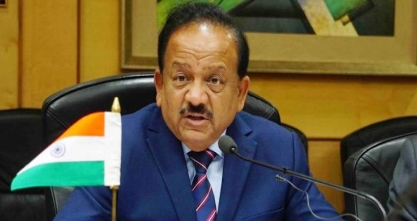 harshvardhan said on vaccine it is not possible to vaccinate every adult right now prshnt