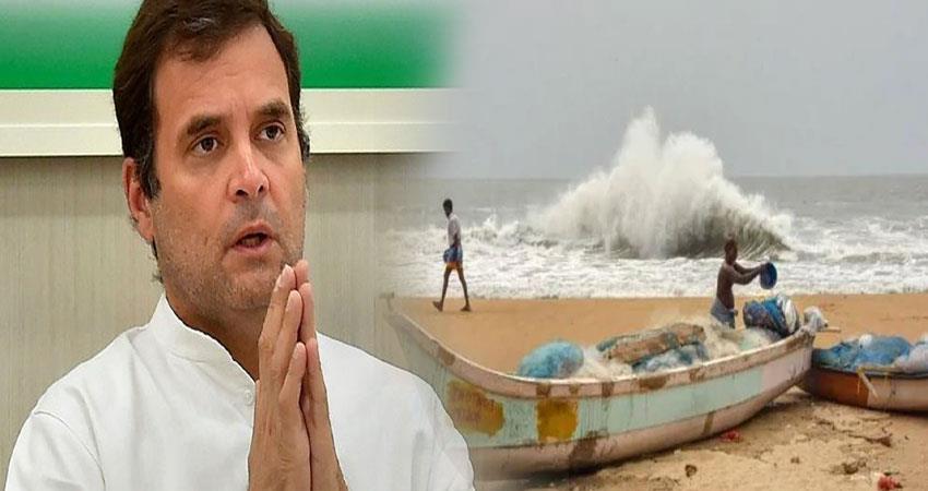 rahul gandhi cyclone nisarga maharashtra and gujarat people pragnt