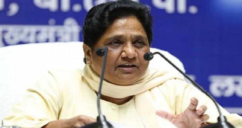 farmers protest on delhi border mayawati said center to reconsider agriculture laws pragnt