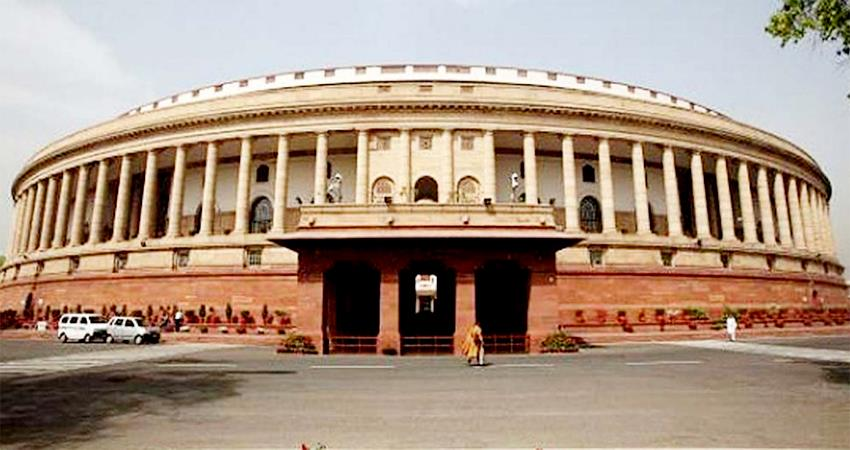 new building of indian parliament 2022 modi government