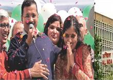 AAP की जीत पर केजरीवाल को बधाई देना डॉक्टर को पड़ा भारी, AIIMS ने भेजा नोटिस