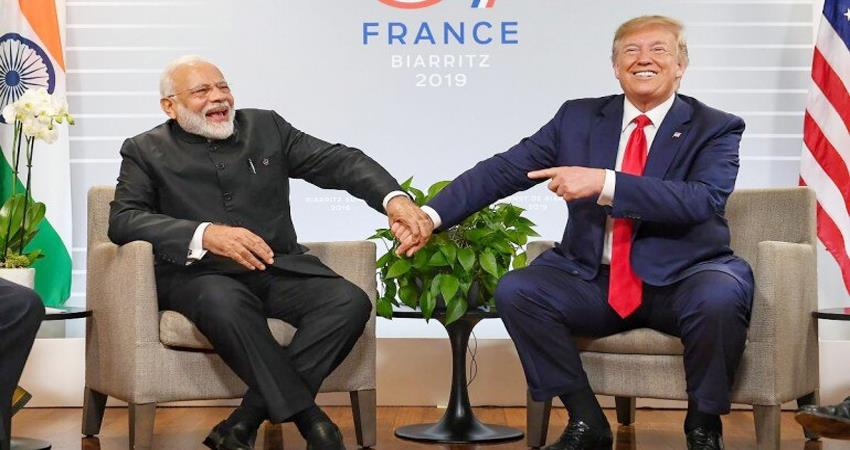 us experts said donald trump''''s visit to india will be a complete success