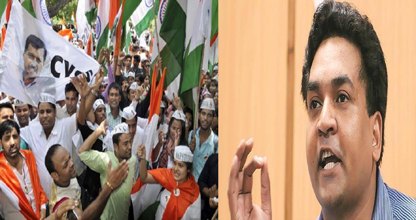 DUSU Election AAP Student Wing CYSS Boycott election Kapil Mishra Tweet