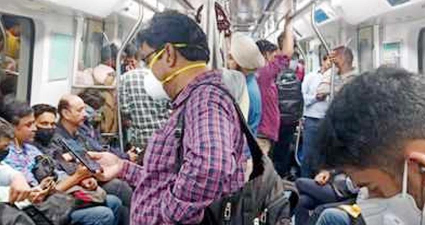 if the corona rules are relaxed then the metro will be fined keep these things in mind prshnt