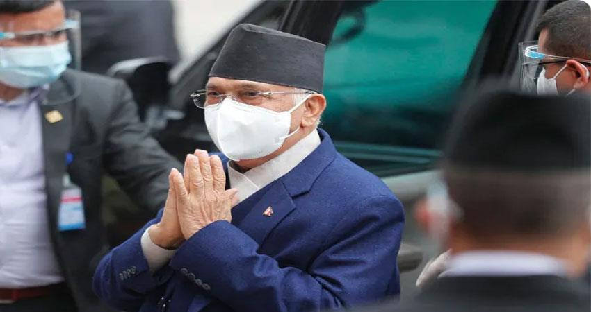 KP Sharma Oli again became PM of Nepal three days after losing confidence vote ANJSNT