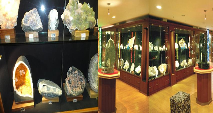 delhi connaught place minerals museum moon mars stone dinosaurs
