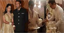 बिग बी, शाहरूख और आमिर ने लड़कीवाले होने का फर्ज किया अदा, ईशा अंबानी की शादी में परोसा खाना