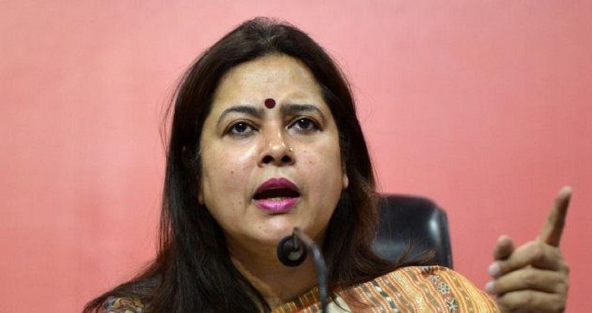 delhi water crisis tanker mafia bjp meenakshi lekhi targets kejriwal govt KMBSNT