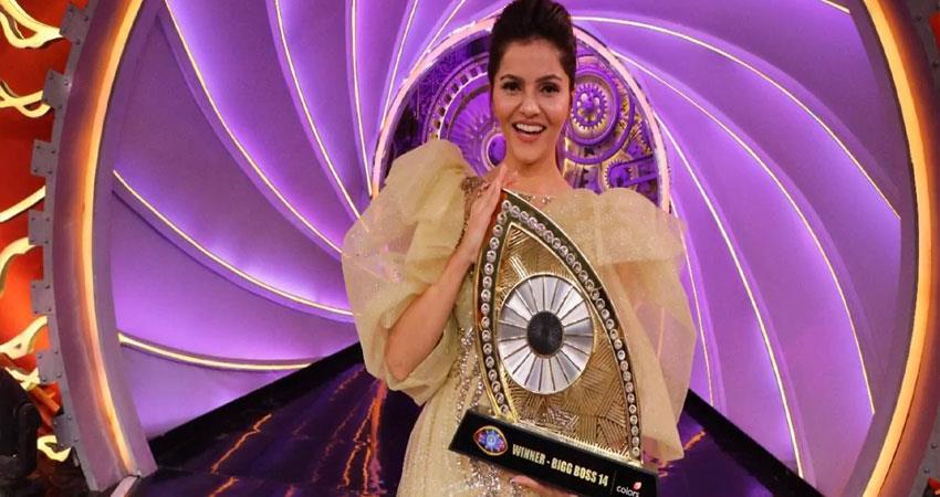 bb14: rubina proved herself the winner of bigg boss 14 won 36 lakh rupees anjnst