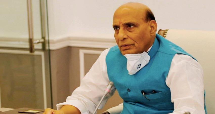 defense minister rajnath singh said india could not depend on imported defense supplies sohsnt