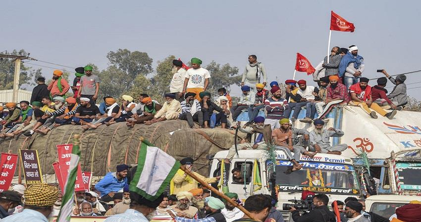 punjab haryana in delhi against new farm laws kmbsnt