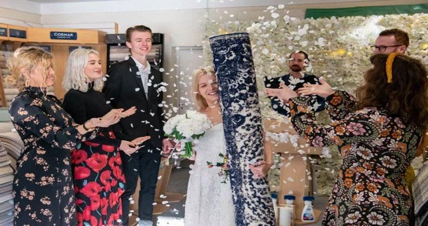 26 year old casino worker single mother bekki married a mat