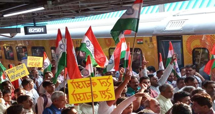 railway-workers-protest-the-tejas-express-uproar-on-the-track