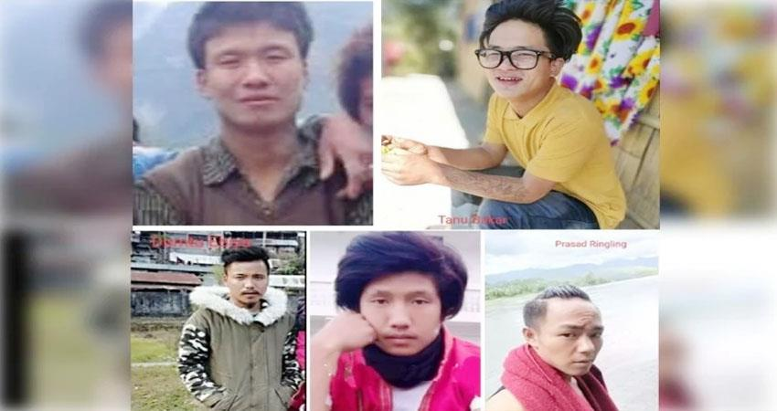 chinese army may leave five missing youths from arunachal pradesh today prshnt