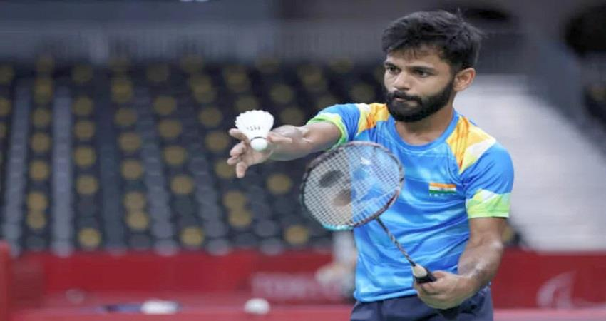 badminton men singles sh6 krishna nagar win gold kmbsnt