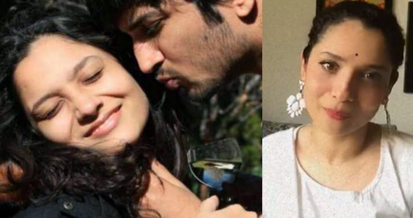 ankita lokhande slams sushant fans by sharing a video sosnnt