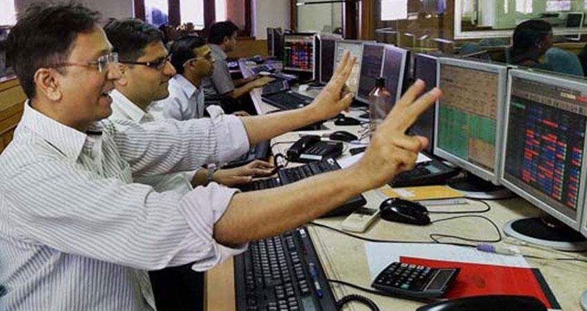 sensex trade up to 400 points while nifty trade 107 points friday 11 october 2019