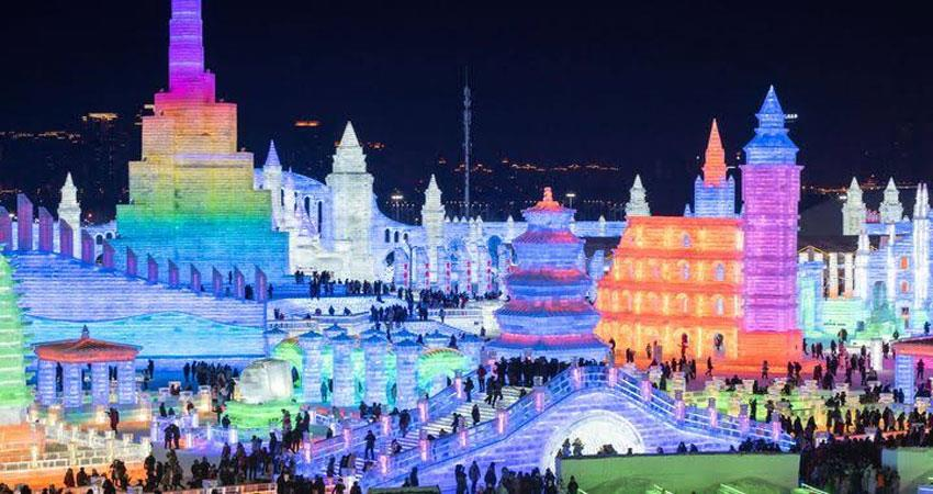 china snow sculpture festival
