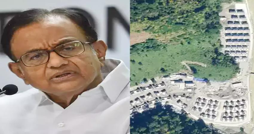 chidambaram asked modi govt on the claim of chinese village in arunachal pradesh pragnt