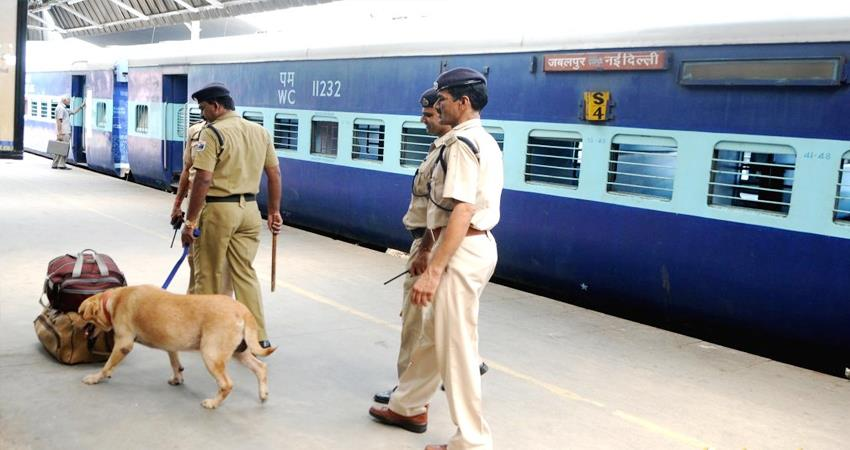 ayodhya case verdict delhi railway station security tighten