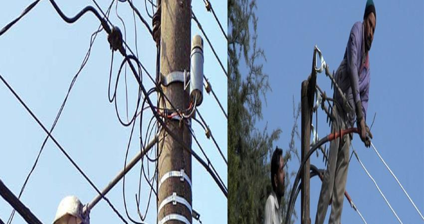 transformers and electric wires on poles invite death for people