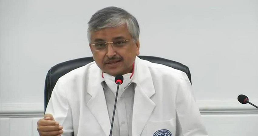 aiims director reaction on deaths after corona vaccination kmbsnt