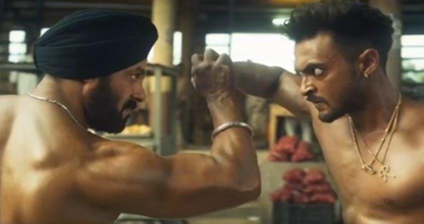 Salman and aayush sharma starer film antim teasr out sosnnt