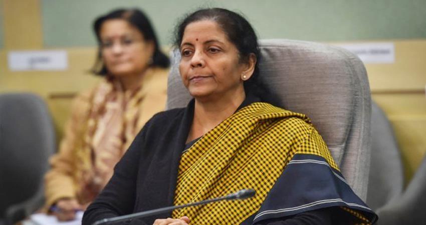 nirmala sitharaman apologized for the long budget speech