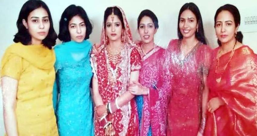 haryana 6 daughters of same family increased the value of teacher father prshnt