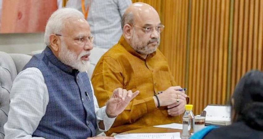 PM Modi and Amit Shah to meet with officials today may decide on lockdown prshnt
