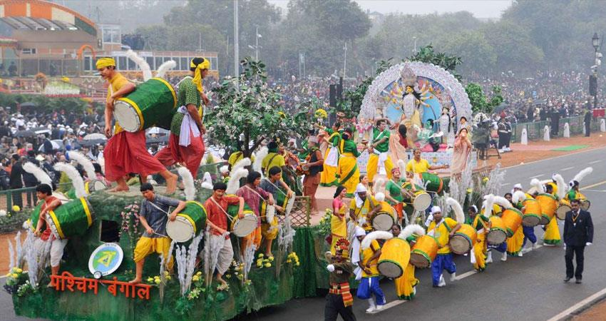 west bengal tableau will not be seen on republic day proposal