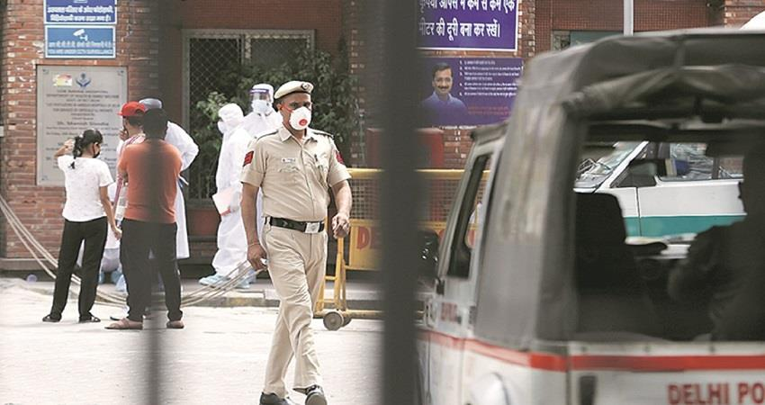 delhi police  new initiative complaint through video call kmbsnt