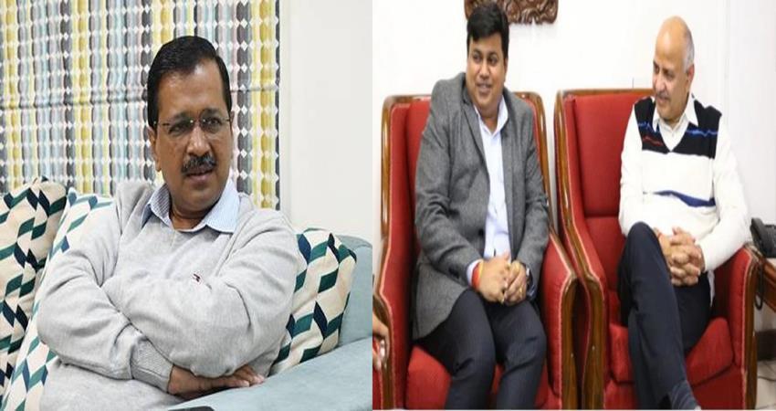 maharashtra education minister uday smant met manish sisodia education reforms