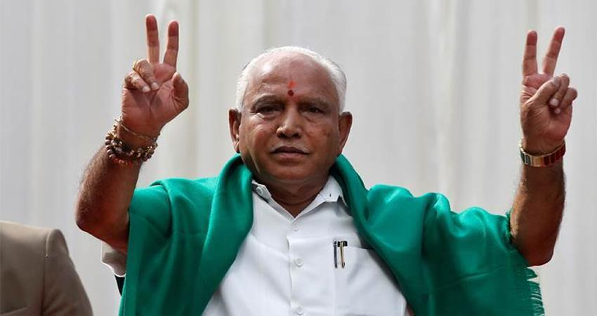 yeddyurappa to be karnataka cm for forth time, swearing in for a while