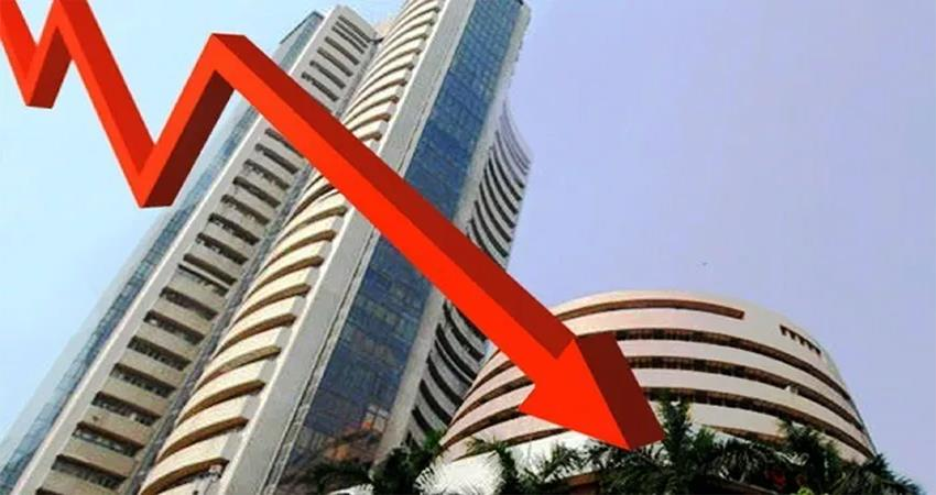 sensex slips down to 765 points in early trade