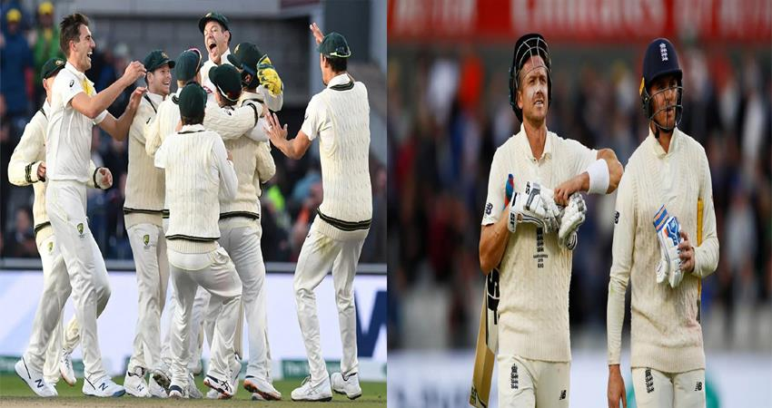 ashes series australia beat world champion england in fourth test take unbeatable lead in series