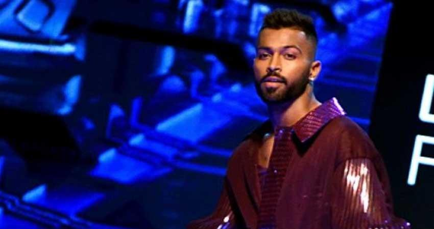 hardik pandya troll on socialmedia  lakme fashion week