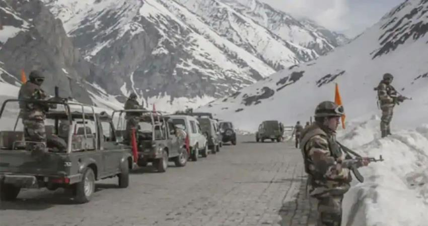 indian army is monitoring with finger 3 india china faceoff pragnt