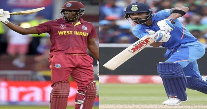 ind vs west indies ind win the toss and elected to ball first