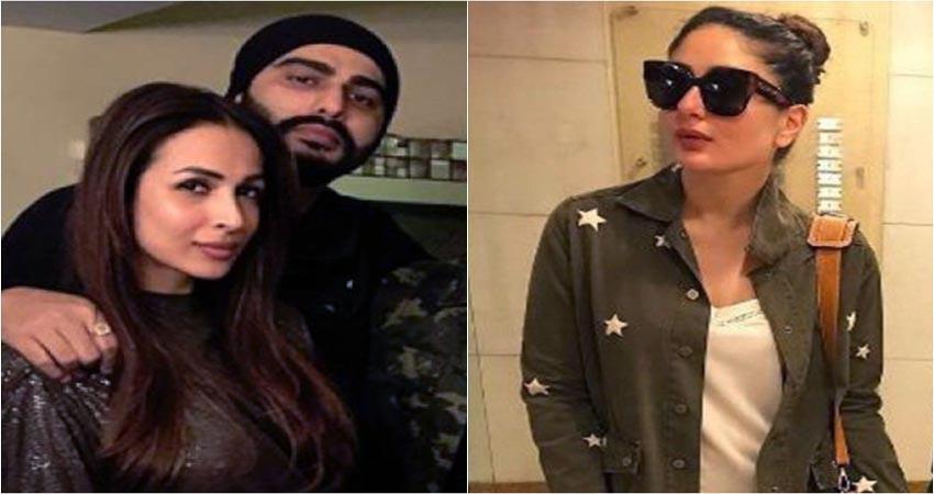 kareena commented on malaika and arjun romantic picture sosnnt