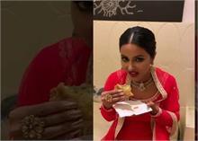 जब समोसा खाते हुए चिल्ला पड़ी हिना, खूब वायरल हो रहा यह मजेदार वीडियो