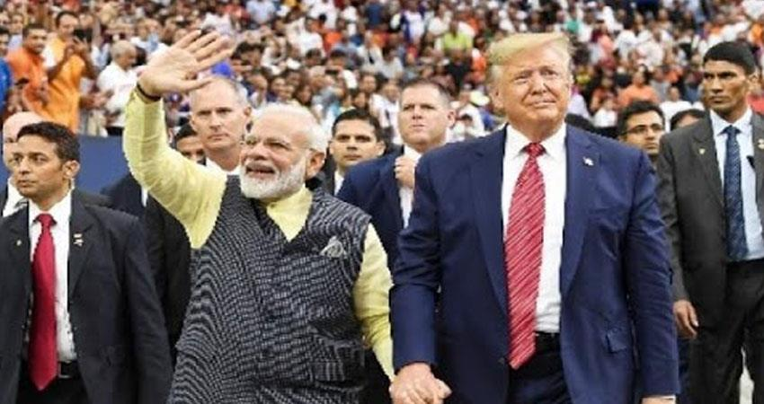 american president  donald trump is ready for india tour