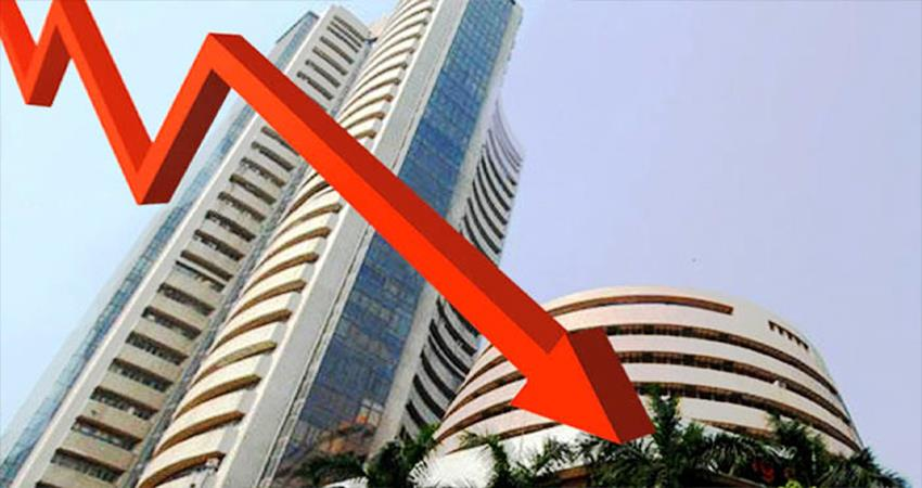 indian stock market sensex and nifty fall down tuesday 18th february 2020