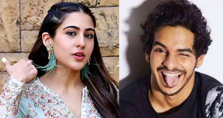 ishaan khatter reminds Sara Ali Khan that earth day is on 22nd april sosnnt