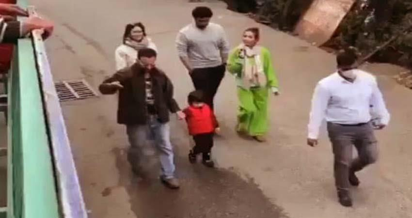 kareena son taimur ali khan video viral from dharamsala sosnnt