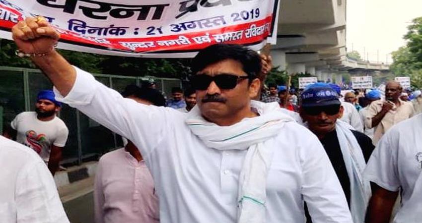 Sant Ravidas Temple Tughlakabad Congress Rajesh Lilothia Petition Against DDA