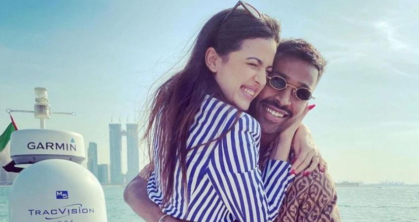 hardik pandya and natasha stankovic  gets troll people reacts this couple is not hottest