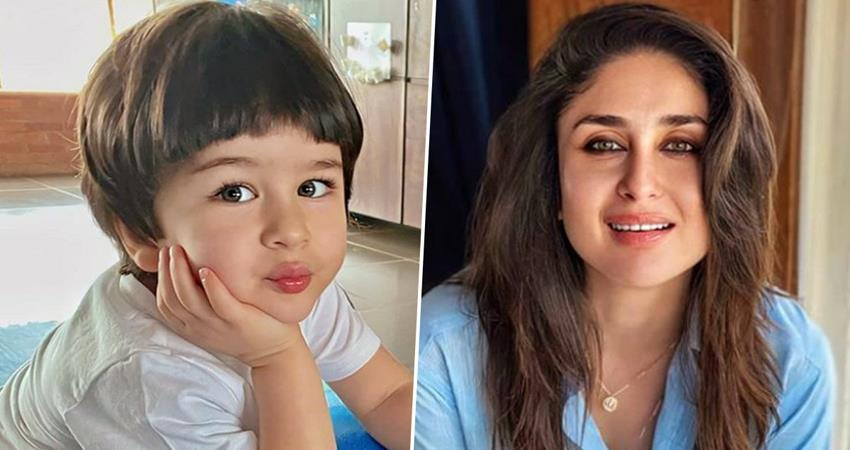 taimur ali khan is playing with a babay girl pics viral sosnnt