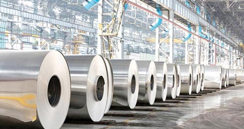 increase in the product of steel companies so many tons prshnt